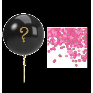 Gender Reveal Pink Balloon Kit Latex Balloon