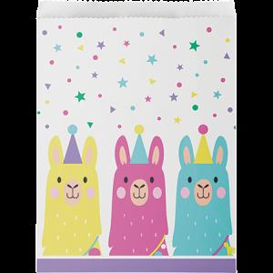 Llama Fun Party Treat Paper Favour Bags