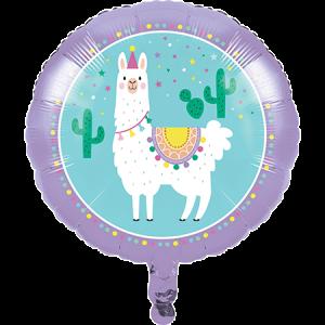 Llama Fun Party Foil Balloon