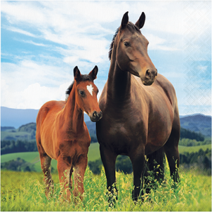 Horse and Pony Lunch Napkins