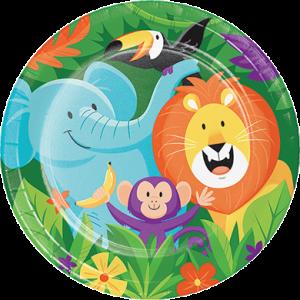 Jungle Safari Dinner Plates