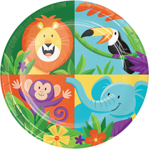 Jungle Safari Lunch Plates