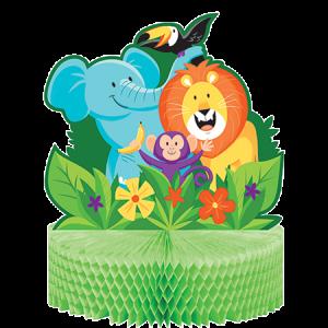 Jungle Safari Honeycomb Centrepiece