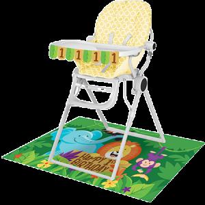 Jungle Safari High Chair Decorating Kit