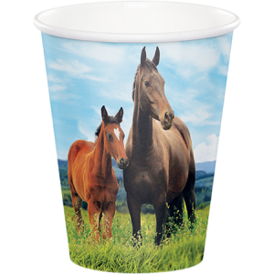 Horse and Pony Paper Cups