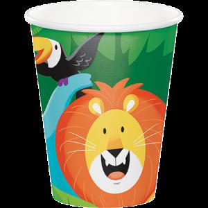 Jungle Safari Paper Cups