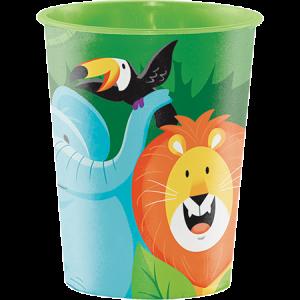 Jungle Safari Keepsake Souvenir Plastic Cup