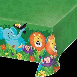 Jungle Safari Plastic Table Cover