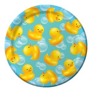 Bubble Bath Paper Lunch Plates
