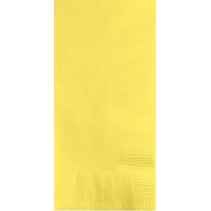 Yellow Mimosa  Dinner Napkins
