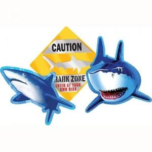 Shark Splash Cutouts