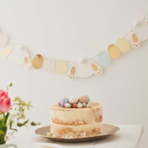 Easter Ginger Ray Bunny & Eggs Garland