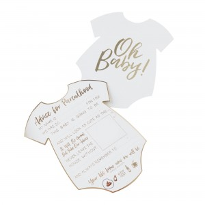 Oh Baby! Advice Cards Party Games