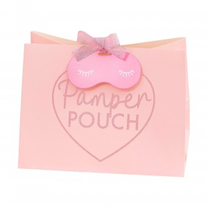 Pamper Club Pink Glitter  Favour Bags