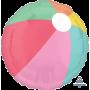 Hawaiian Just Chillin Standard HX Beach Ball Shaped Balloon 45cm