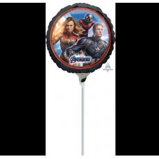 Round Avengers Endgame Foil Balloon 22cm