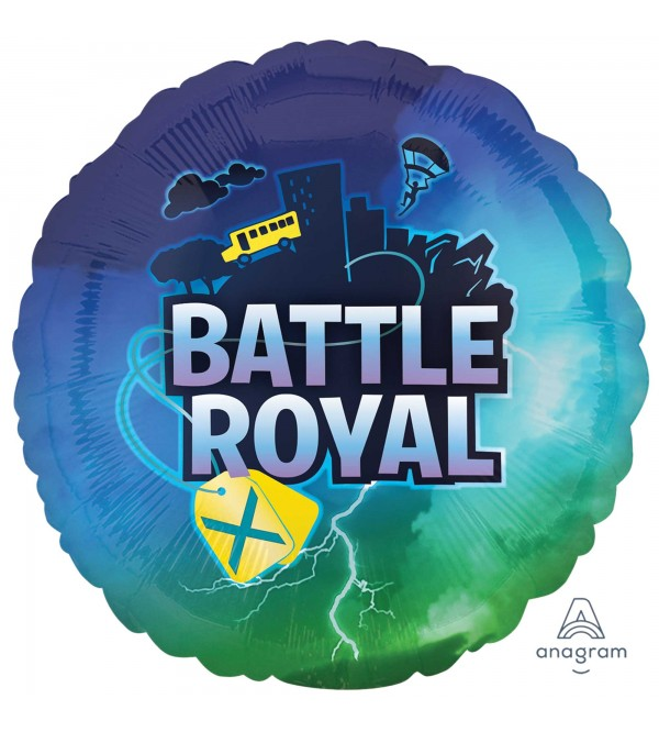 Battle Royal Standard HX Foil Balloon 45cm