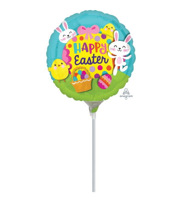 Big Egg Easter Foil Balloon 22cm