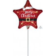 Christmas Party Decorations - Foil Balloon Santa