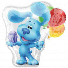 Blue's Clues Party Decorations - Shaped Balloon SuperShape