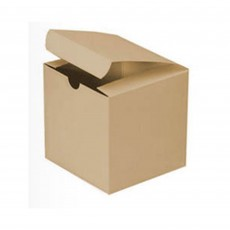 Kraft Treat Favour Boxes 7.5cm x 7.5cm x 8cm Pack of 12