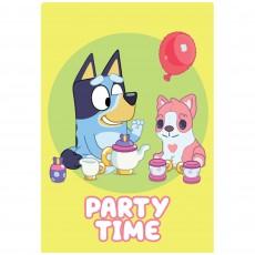 Bluey Party Supplies - Invitations Postcard
