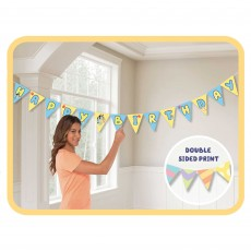 Bluey Party Decorations - Banner Bunting
