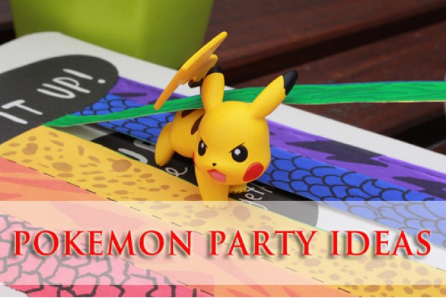 Awesome Pokemon Theme Birthday Party Ideas