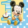 Boy Mickey Mouse 1st Birthday