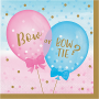 Gender Reveal Lunch Napkins Pack of 16
