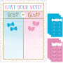 Gender Reveal Cast Your Vote Party Game 61cm x 45cm