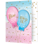 Gender Reveal Invitations 12cm x 10cm Pack of 8