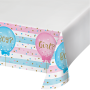 Gender Reveal Plastic Table Cover 137cm x 259cm