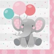 Girl Enchanting Elephant