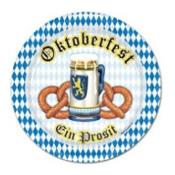 Oktoberfest Plates