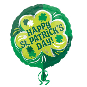 St Patricks Day Balloons