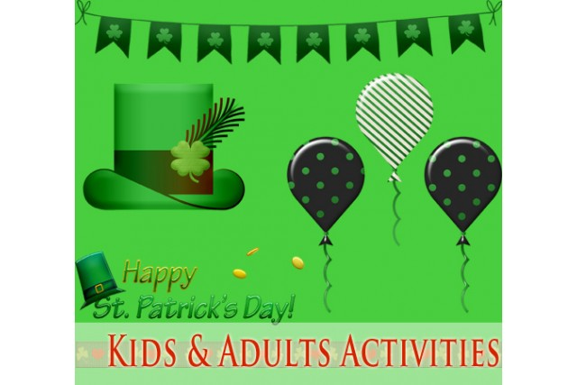 St Patricks day activities for kids and adults