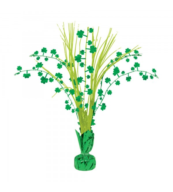 St Patrick's day Shamrock Centrepiece 30.5cm