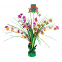 Hawaiian Party Decorations Tiki Deluxe Foil Spray Centrepieces