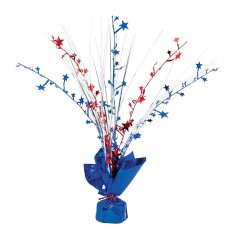 USA Patriotic Spray Centrepiece 30cm