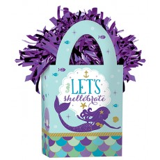 Mermaid Wishes Mini Tote Let's shellebrate Balloon Weight 162g