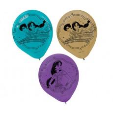 Teardrop Aladdin Latex Balloons 30cm Pack of 6