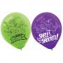 Teardrop Rise of the Teenage Mutant Ninja Turtles Latex Balloons 30cm Pack of 6