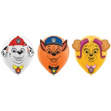 Paw Patrol Party Decorations - Latex Balloons