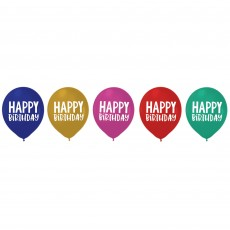 Dots Party Decorations - Latex Balloons Happy Dots