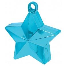 Caribbean Blue Star Balloon Weight 170g