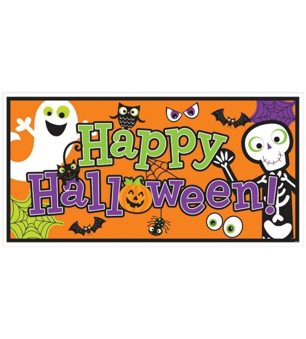 Halloween Family Friendly Banner 1.65m x 85cm