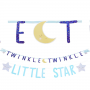 Twinkle Little Star Jumbo Cardboard Letter Banners Pack of 2