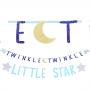 Twinkle Little Star Jumbo Cardboard Letter Banners Pack of 2