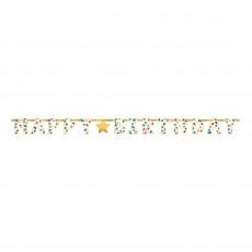Dots Party Decorations - Banners Happy Dots Foil